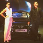 kubbra sait at audi car launch