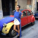 kubbra sait photo by vintage car in greece vacation