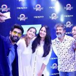 kubbra sait selfie with bahubali team rana daggubati anushka rajamouli