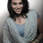 swara bhasker  blue dress  (1)