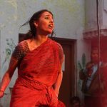 swara bhasker  during raanjhana holi with dhanush  (2)