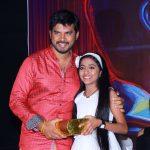 Aaruthra, press meet, stage, PaVijay