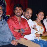 Aaruthra, press meet, team, stage