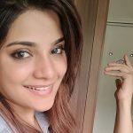 Aathmika, selfie, cute face