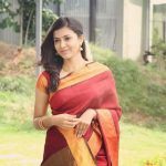 Anju Kurian, saree, traditional dress