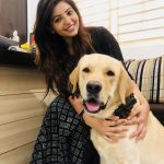 Athulya Ravi, dog, pet lover