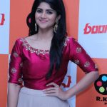 Boomerang Audio Launch, event, red dress