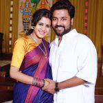 Chandran, Vj Anjana, husband, wife, smile