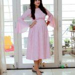 Chandran, Vj Anjana, large size, pink