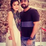 Chandran, Vj Anjana, outing, movie