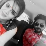 Chandran, Vj Anjana, selfie, outing, car
