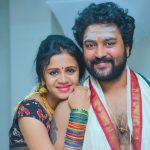 Chandran, Vj Anjana, wallpaper, hd, real life couple
