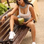 Chandrika Ravi, coconut, seductive