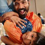 Dhanush, son, playing