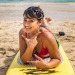 Ileana D'Cruz, Beach, sightly
