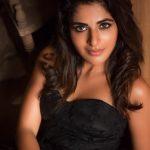 Iswarya Menon, black fit, engaging