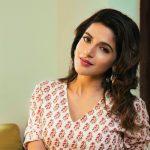 Iswarya Menon, pink saree, seductive