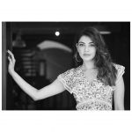 Kajal Aggarwal, Black And White, dressy