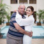 Kajal Aggarwal, Father, Hug