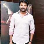Kanaa Audio Launch, Sivakarthikeyan, near banner