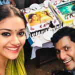 Keerthy Suresh, vishal, sandakozhi 2, cake