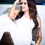 Mahima Nambiar,  white dress, 600045