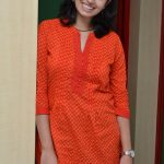 Malavika Nair, Orange Tops, Blue Jean