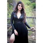 Manisha Shree, black dress, winsome