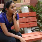 Marainthirunthu Paarkkum Marmam Enna, glamour, blue dress, Aishwarya Dutta