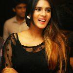 Meera Mitun, smile, black, hair style