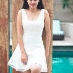 Nandita Swetha, hd, wallpaper, white dress