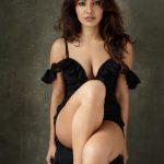 Neha Sharma, black dress, spicy