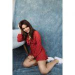 Neha Sharma, fashion, new style, red