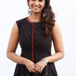 Priya Bhavani Shankar, black dress, smile, kadaikutty singam