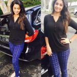 Priya Bhavani Shankar, car, black dress