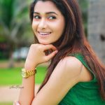 Priya Bhavani Shankar, latest, green dress, face