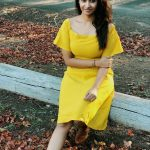 Priya Bhavani Shankar, latest, yellow dress, full size
