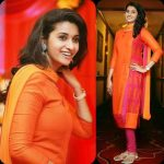 Priya Bhavani Shankar, orange dress, unseen
