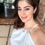 Raai Laxmi, Selfie, White Dress