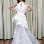 Raiza Wilson, white dress, zee tamil