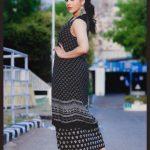 Rashmi Gautam, black dress, dressy
