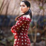 Rashmi Gautam, red dress, recent look