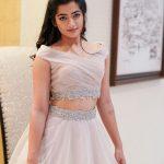 Rashmika Mandanna, White dress, angle