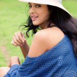 Riya Suman, photo shoot, cap, modern dress