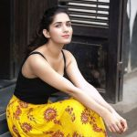 Ruhani Sharma, black tops, adorable