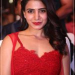 Samantha Akkineni, red dress, glamour