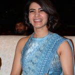 Samantha Akkineni, saree, event, smile