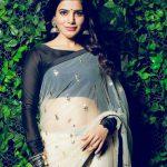 Samantha Akkineni, saree, traditional