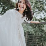 Samantha Akkineni, smile, white dress, hd