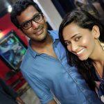 Sanjana Singh, Selfie, Vishal, Friend